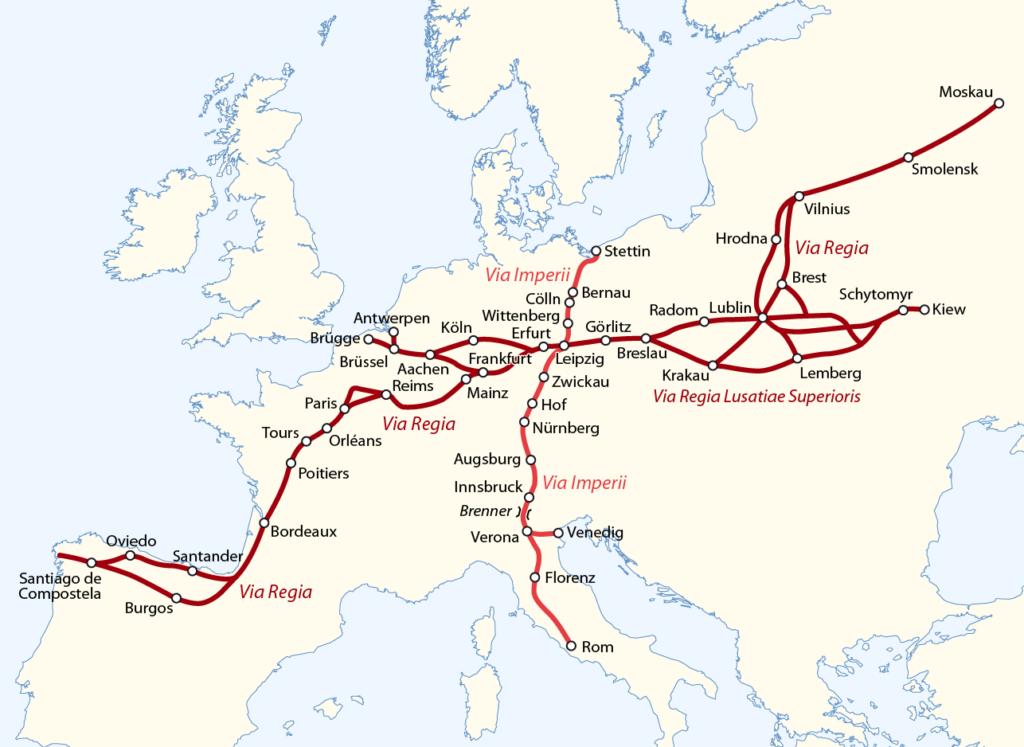Via Imperii i Via Regia